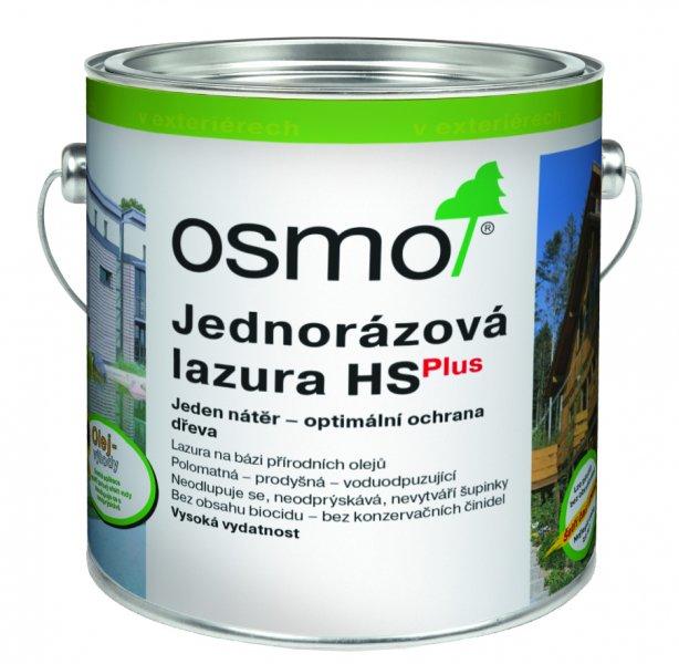 OSMO Jednorázová lazura HS plus > OSMO Jednorázová lazura HS Plus 0,75 l