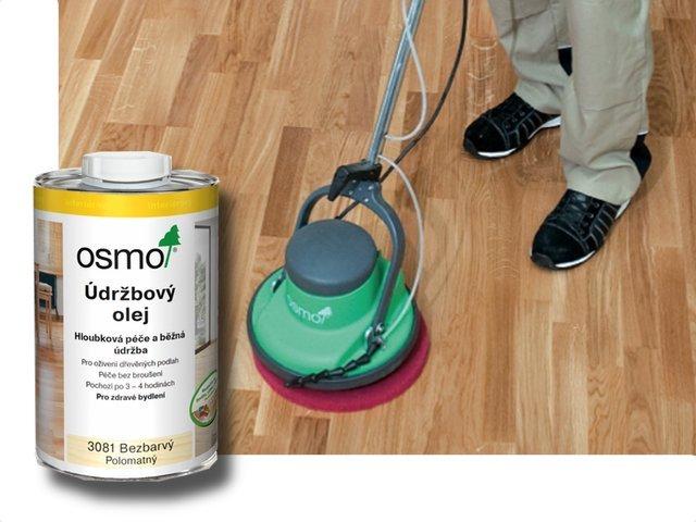 OSMO Čištění, opravy a  údržba - vnitřní > OSMO Údržbový olej - 1l