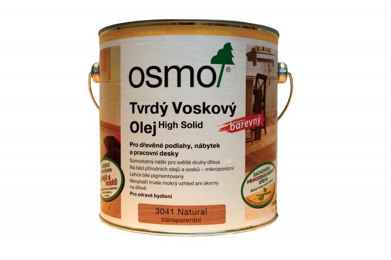 OSMO Tvrdý voskový olej EFEKT NATURAL > OSMO 3041 Tvrdý voskový olej Efekt Natural   2,5 l