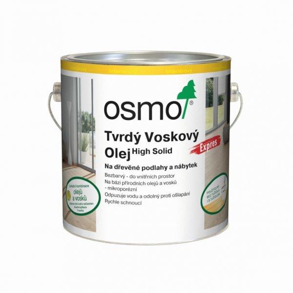 Produkty > OSMO Tvrdý voskový olej rychleschnoucí EXPRES 2,5 l