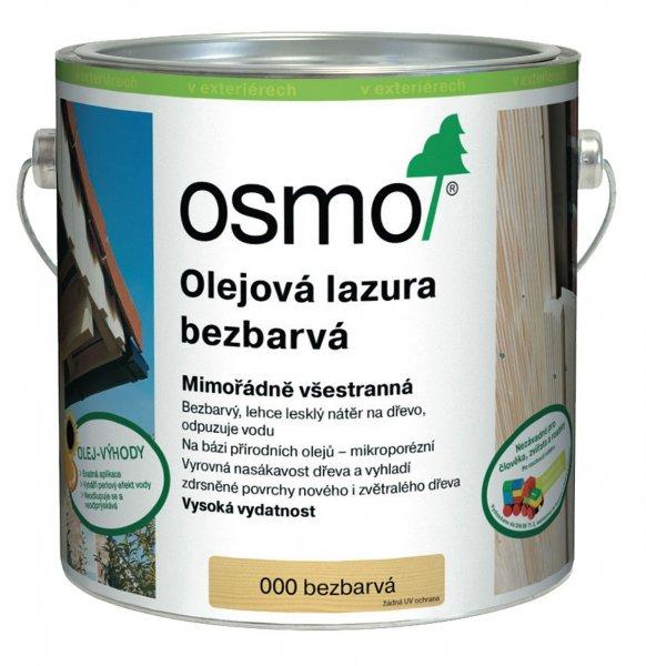 OSMO Olejová lazura bezbarvá > 000 OSMO olejová lazura bezbarvá 2,5 l