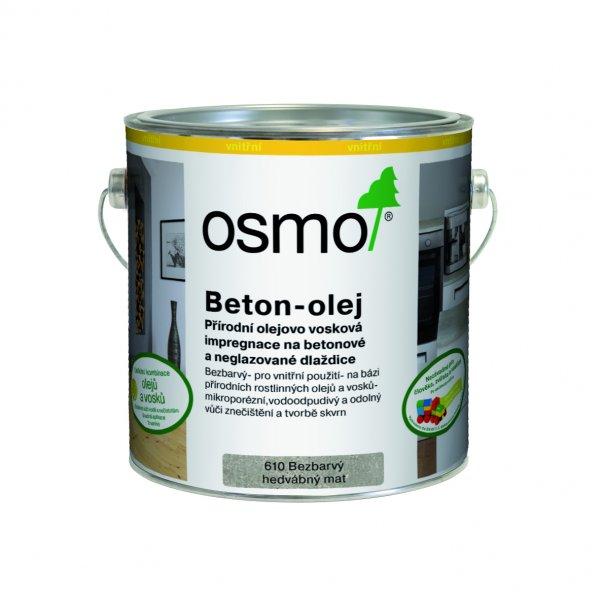 OSMO BETON olej > OSMO 610 BETON olej 2,5 l