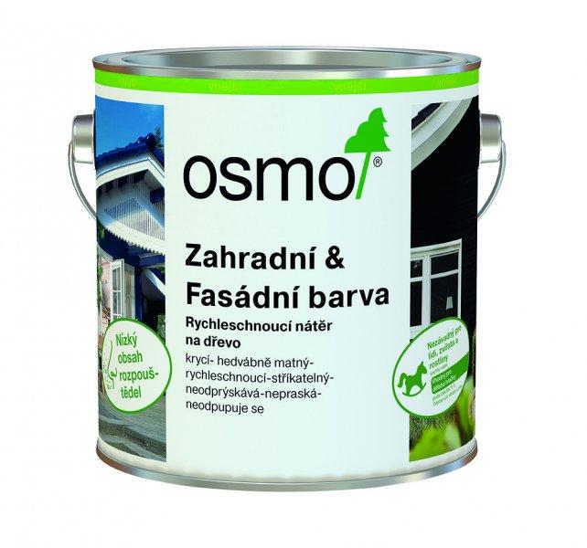 Venkovní nátěry > OSMO Zahradní & Fasádní barva 0,75 l