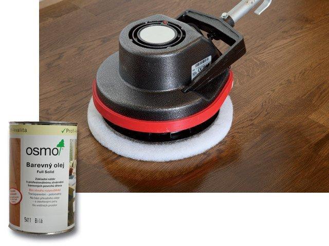 Vnitřní nátěry pro profesionály > Osmo Barevný olej - na podlahy - 1l