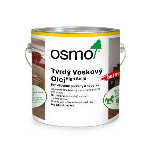 Osmo > OSMO Tvrdý voskový olej barevný 2,5 l