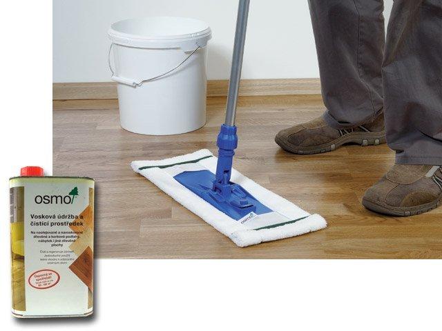 OSMO Čištění, opravy a  údržba - vnitřní > OSMO 3087 Vosková údržba a čistící prostředek bílá  1l